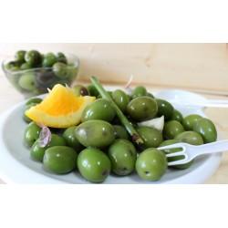 Aceitunas verdes caseras...